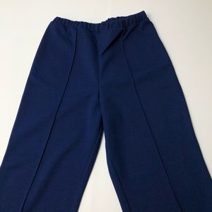 VTG 80's High Waisted Polyester Pants Slack Casual